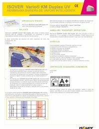 Membrana bariera de vapori  inteligenta ISOVER VARIO® KM Duplex UV