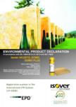 Declaratie de mediu pentru vata de sticla ISOVER - DOMO
