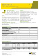 Placi rigide din vata minerala pentru izolarea fonica si termica la plansee ISOVER