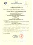 Certificat de constanta a performantei pentru vata minerala de sticla ISOVER - SUPER PROFI