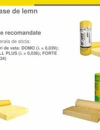 Solutie ISOVER pentru termoizolarea caselor de lemn