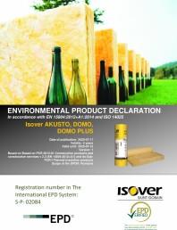 Declaratie de mediu pentru vata de sticla
