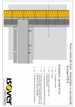 Perete exterior din beton - sistem ETICS ISOVER