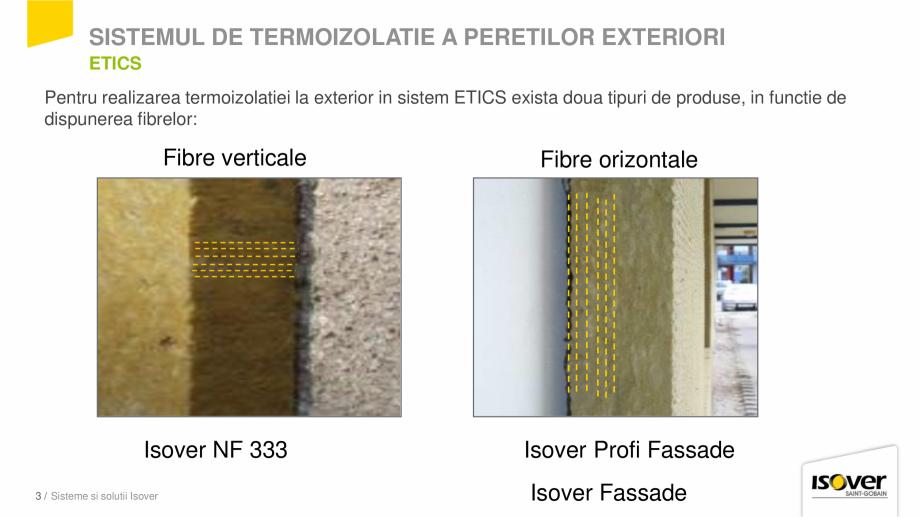 Pagina 3 - Prezentare sistem ISOVER ETICS -Termoizolare pereti exteriori ISOVER Catalog, brosura...