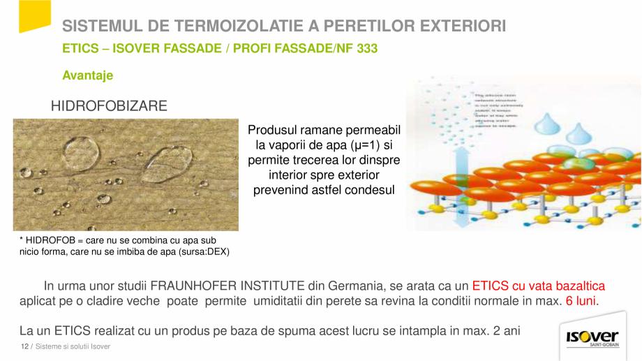Pagina 12 - Prezentare sistem ISOVER ETICS -Termoizolare pereti exteriori ISOVER Catalog, brosura...