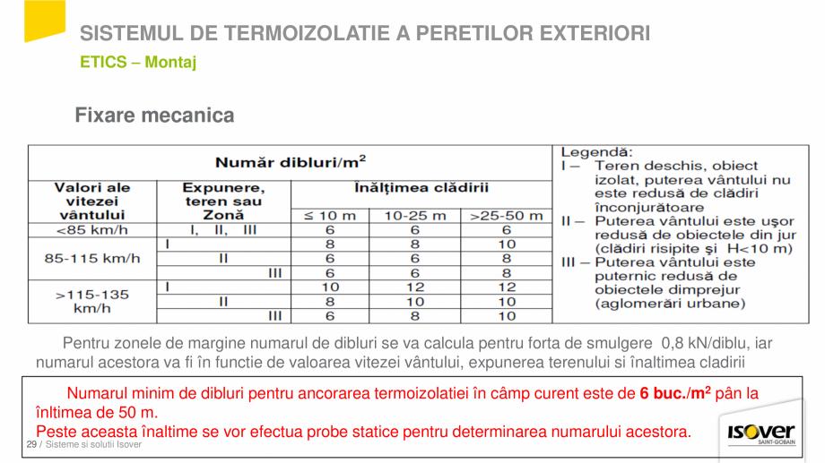 Pagina 27 - Prezentare sistem ISOVER ETICS -Termoizolare pereti exteriori ISOVER Catalog, brosura...