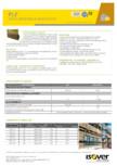 Vata minerala bazaltica  ISOVER - PLF