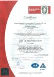 Certificat ISO 14001:2016 ISOVER