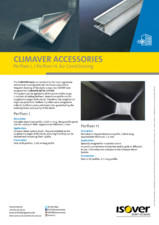 Accesorii Climaver ISOVER