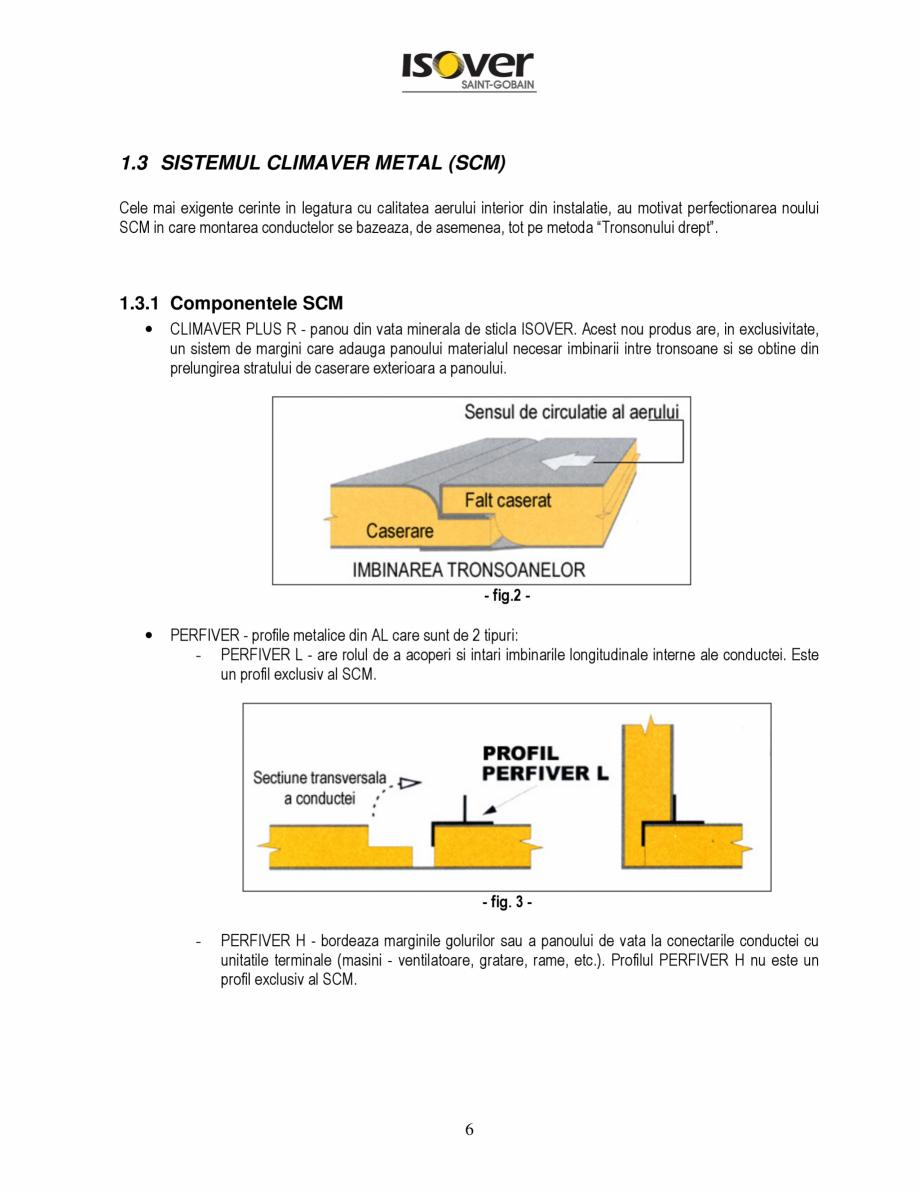 Pagina 6 - Manual de instalare a canalelor de aer autoportante Climaver ISOVER Climaver A2 Neto,...