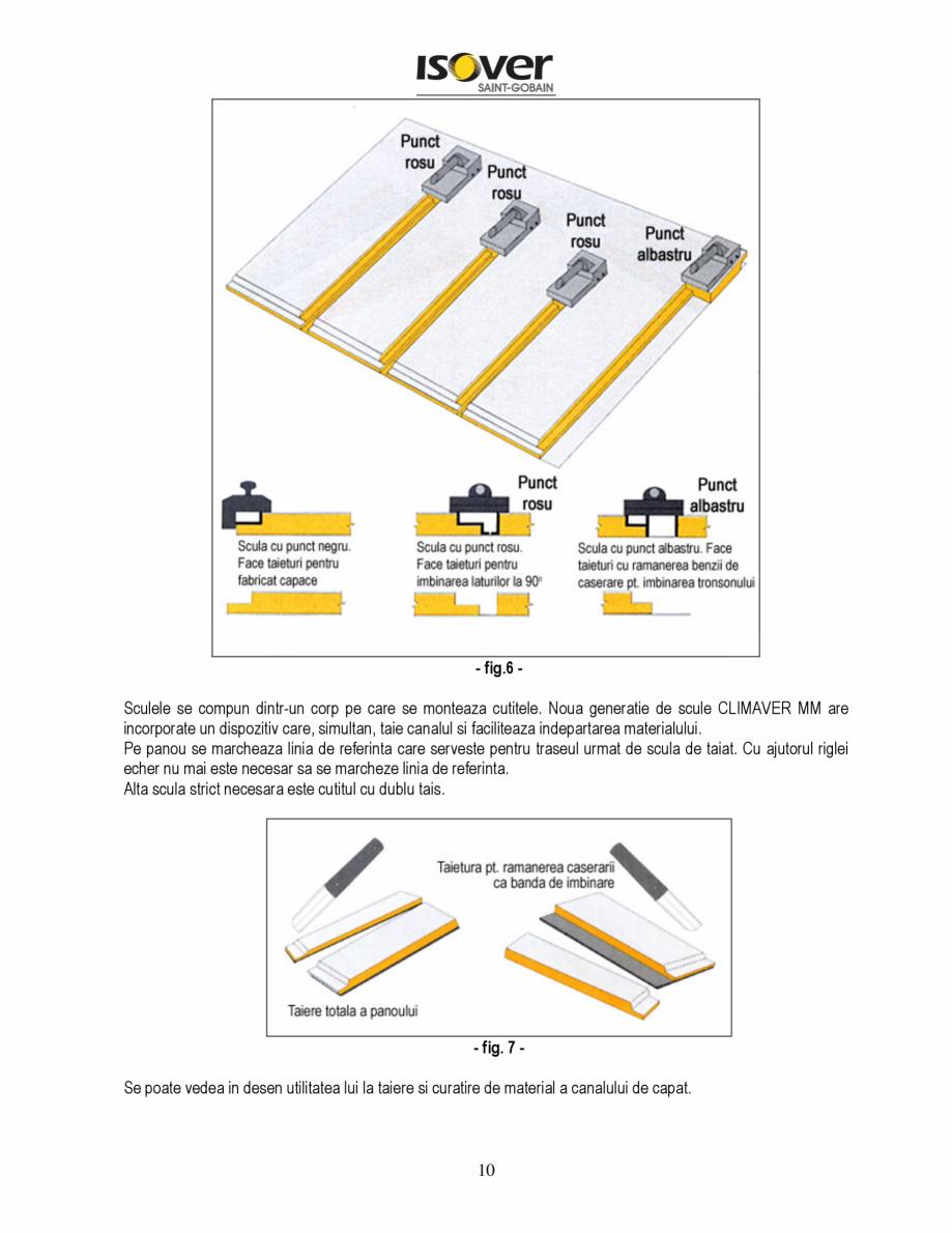 Pagina 10 - Manual de instalare a canalelor de aer autoportante Climaver ISOVER Climaver A2 Neto,...