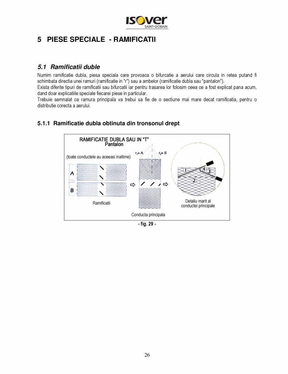 Pagina 26 - Manual de instalare a canalelor de aer autoportante Climaver ISOVER Climaver A2 Neto,...