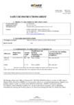Instructiuni de utilizare si securitate pentru vata minerala de sticla ISOVER