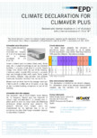 Impactul vatei minerale asupra mediului ISOVER - Climaver Plus R