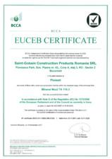 Certificat EUCEB ISOVER
