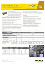 Placi din vata minerala bazaltica caserate ISOVER