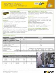 Placi din vata minerala bazaltica caserate