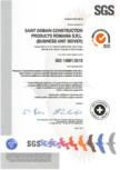 Certificat ISO 14001:2015 pentru vata minerala bazaltica ISOVER