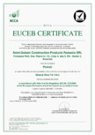 Certificat EUCEB pentru vata minerala ISOVER