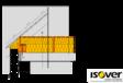 Termoizolatie pentru pod circulabil ISOVER - RIO
