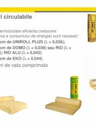 Solutia ISOVER TOP-KOMFORT pentru termoizolare poduri circulabile