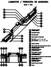 Luminator, Fereastra de mansarda - Tigla profilata BRAMAC