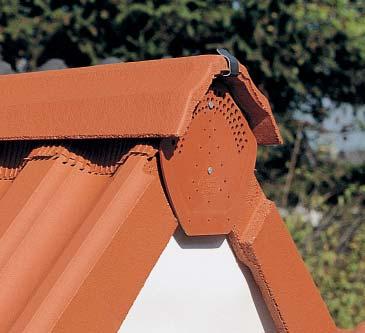 Placuta PVC inchidere coama BRAMAC - Poza 5