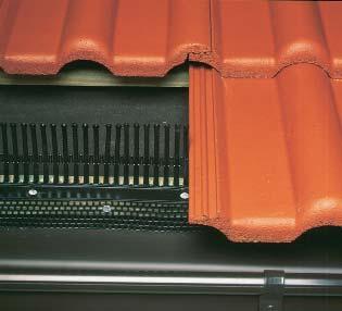 Element protectie streasina si banda de aerisire protectie streasina BRAMAC - Poza 4