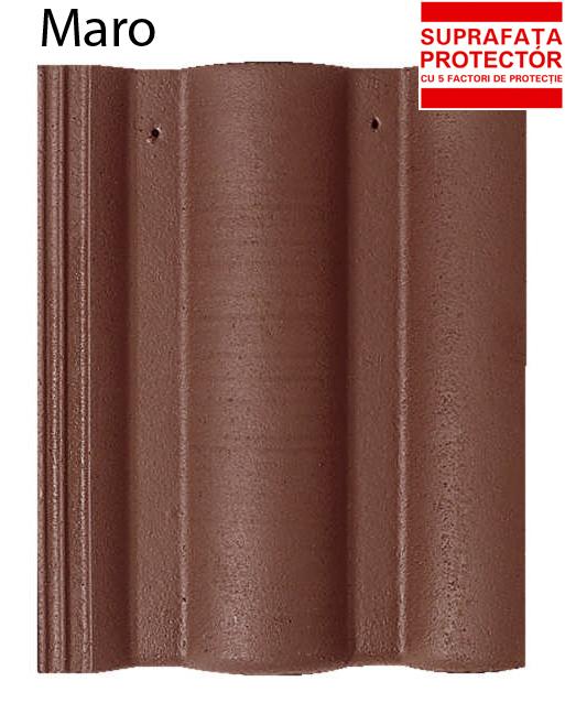 Tigla profilata din beton BRAMAC - Poza 3