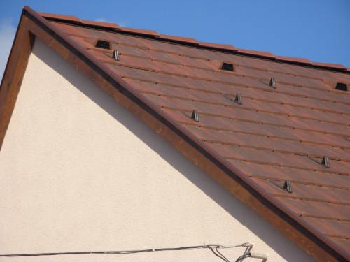 Invelitori cu tigle plate din beton BRAMAC - Poza 5