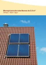 Panou solar de 2,5 mp BRAMAC