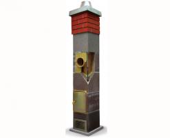 Cosuri de fum prefabricate din module ceramice Cosurile de fum Schiedel se caracterizeaza prin siguranta in exploatare si durabilitatea ridicata, sunt rezistente la condensul acid si socurile termice.