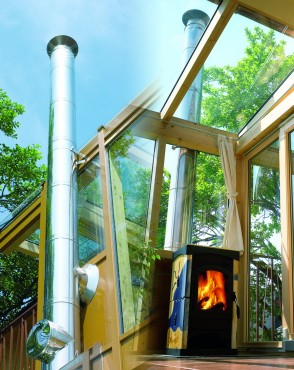 Sistem de cosuri de fum din otel inoxidabil BRAMAC DIVIZIA SCHIEDEL - Poza 5