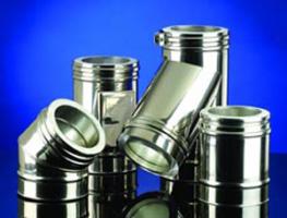 Cosuri de fum prefabricate din otel inoxidabil Cosurile de fum din otel inoxidabil Schiedel sunt fabricate dupa o tehnologie avansata, dispunand de o solutie de imbinare performanta a tubulaturii.