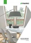 Lista de preturi ferestre de mansarda FAKRO