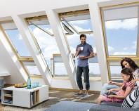 Ferestre de mansarda, ferestre de acces pe acoperis