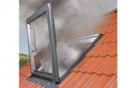 Ferestre de evacuare a fumului pentru acoperis cu panta intre 20 si 60 de grade FAKRO