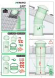 Instructiuni montaj pentru tunele de lumina - diametre 250,350,550 mm FAKRO - SRT