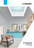 Lista de preturi ferestre pentru acoperis terasa FAKRO