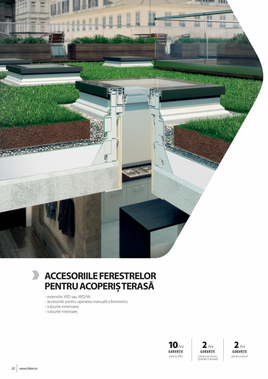 Pagina 20 - Lista de preturi ferestre pentru acoperis terasa FAKRO Catalog, brosura Romana ...