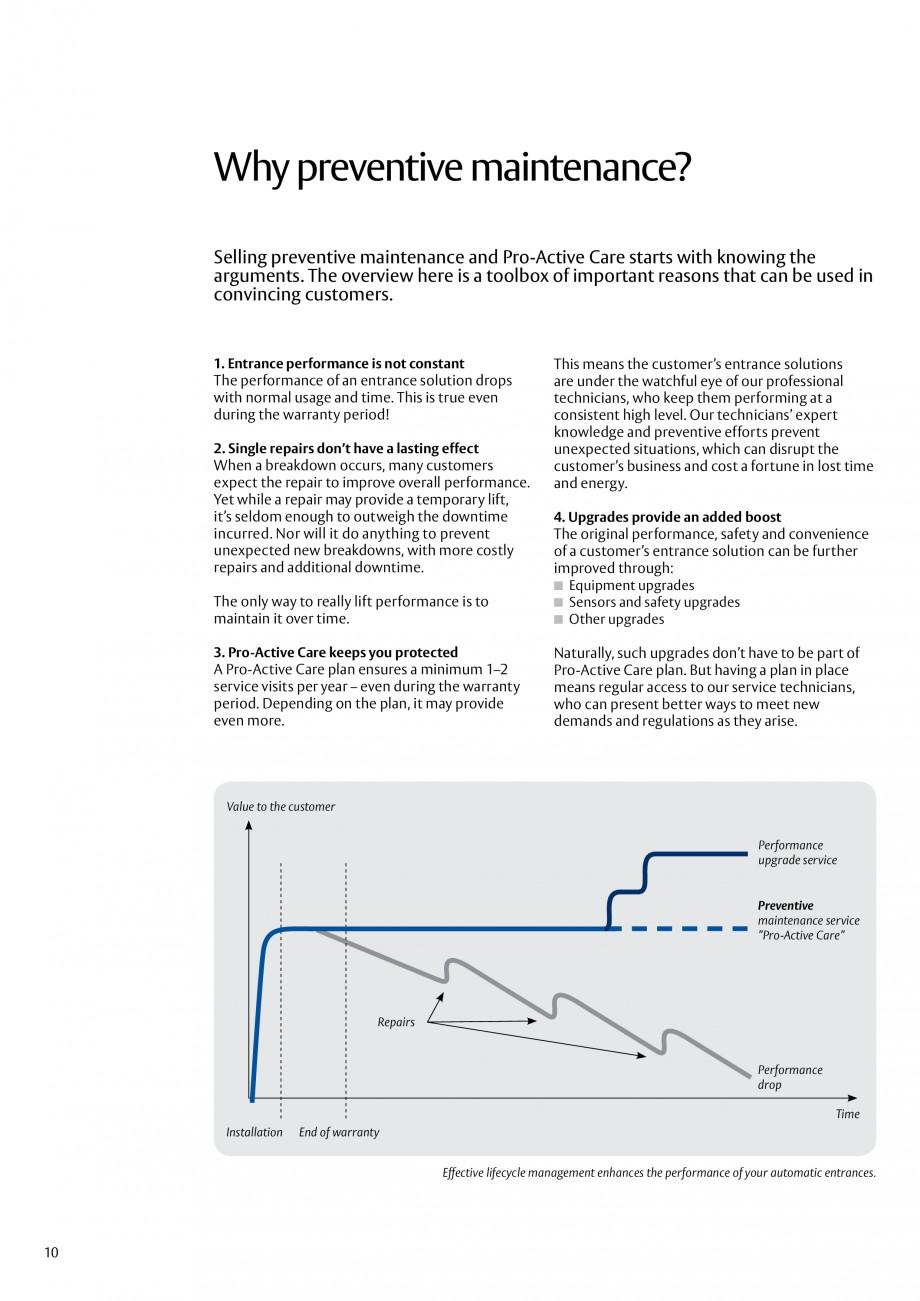 Pagina 10 - Servicii Assa Abloy Entrance Systems  Catalog, brosura Engleza rvice business grow, we...