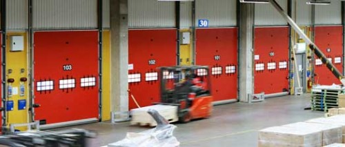 Exemple de utilizare Usi industriale sectionale CRAWFORD ASSA ABLOY - Poza 2