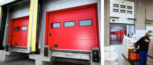 Prezentare produs Usi industriale sectionale CRAWFORD ASSA ABLOY - Poza 3