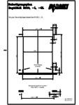 Plan de fixare usi industriale rapide ASSA ABLOY - RapidRoll® 3000 GL