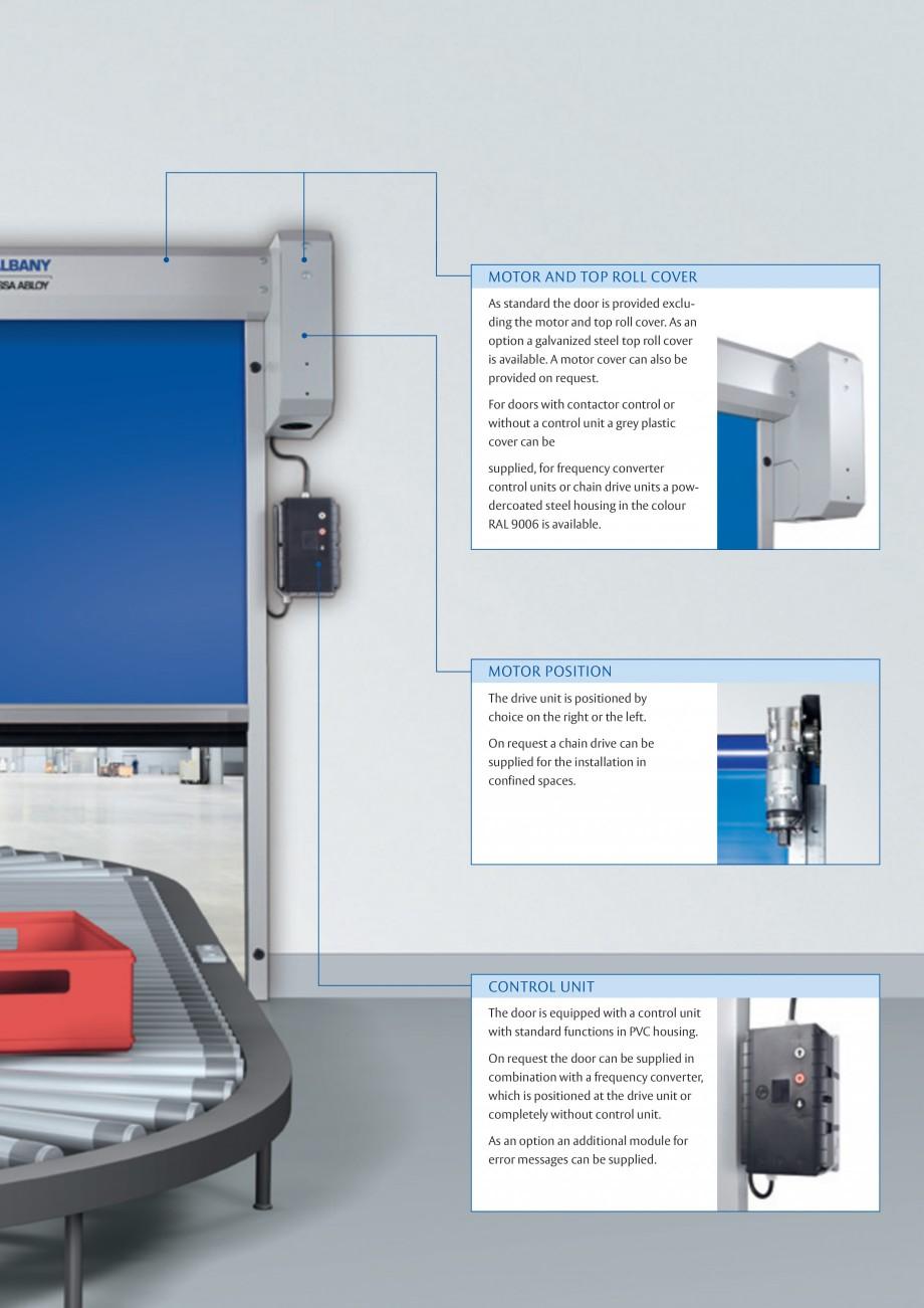 Pagina 3 - Usa industriala de inalta performanta ASSA ABLOY RapidProtectTM 100 Fisa tehnica Engleza ...