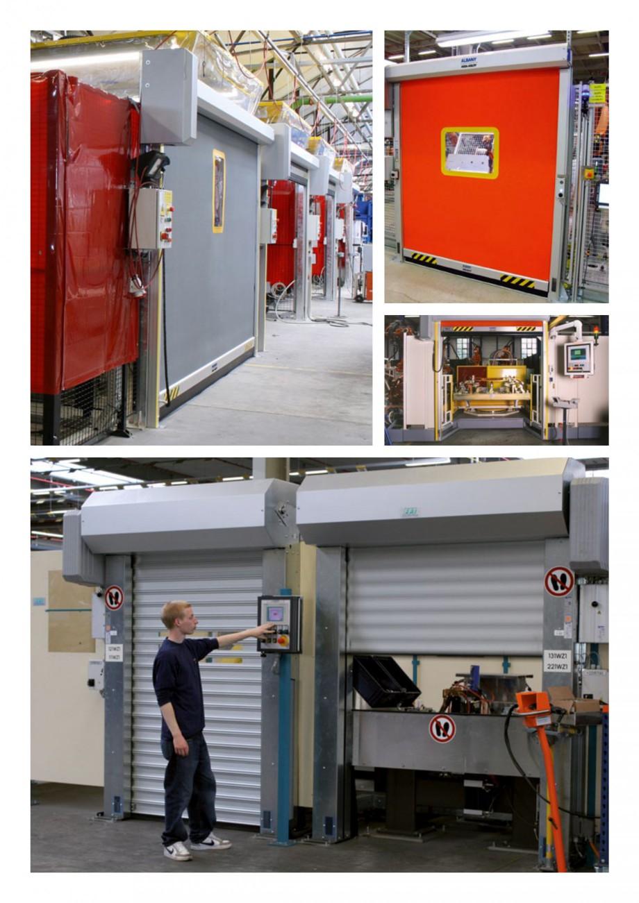 Pagina 3 - Usi industriale de inalta performata ASSA ABLOY RapidProtectTM 100, RapidProtectTM 300,...