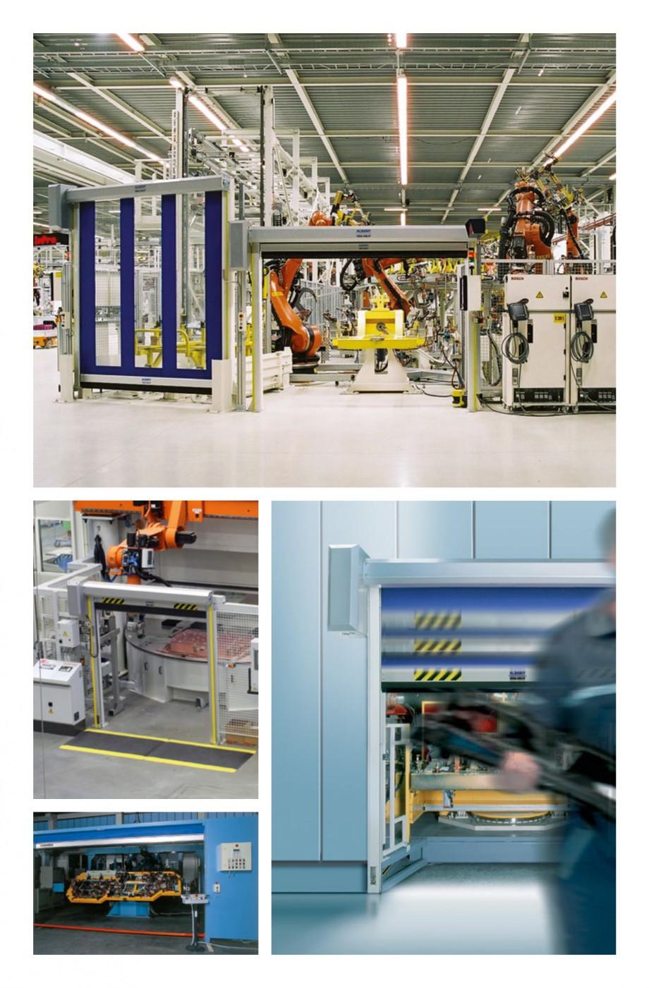 Pagina 4 - Usi industriale de inalta performata ASSA ABLOY RapidProtectTM 100, RapidProtectTM 300,...