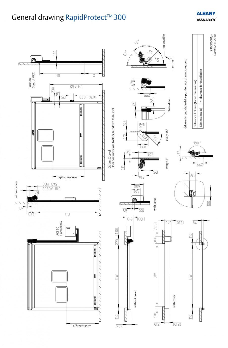 Pagina 5 - Usa industriala de inalta performanta ASSA ABLOY RapidProtectTM 300 Fisa tehnica Engleza ...