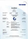 Certificat TUV-Nord ASSA ABLOY - RapidProtectTM 300