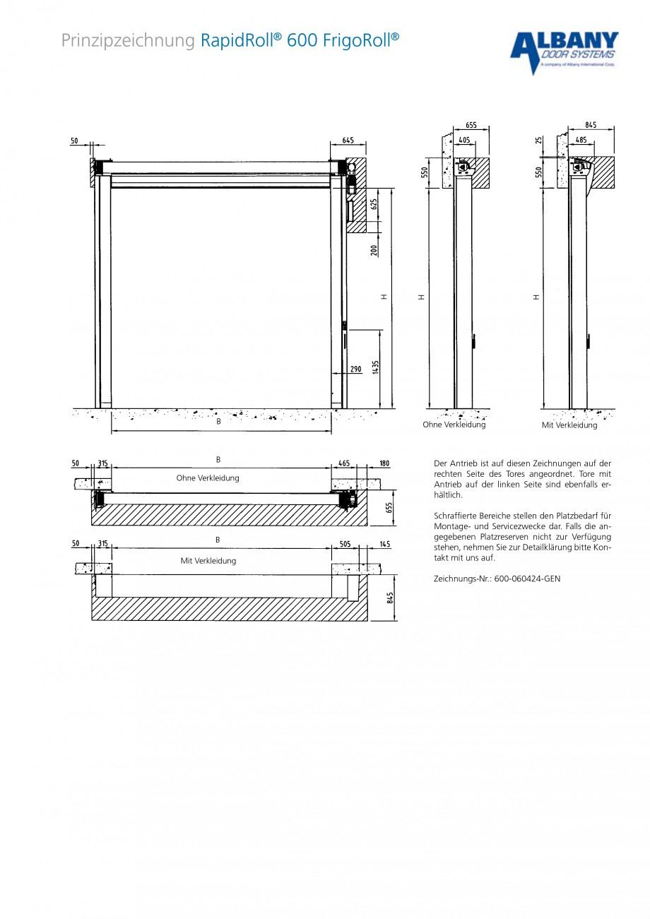 Pagina 3 - Usa industriala de inalta performanta ASSA ABLOY RapidRoll® 600 FrigoRoll Fisa...